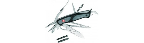 Ножи, стропорезы, серрейторы, мультитулы